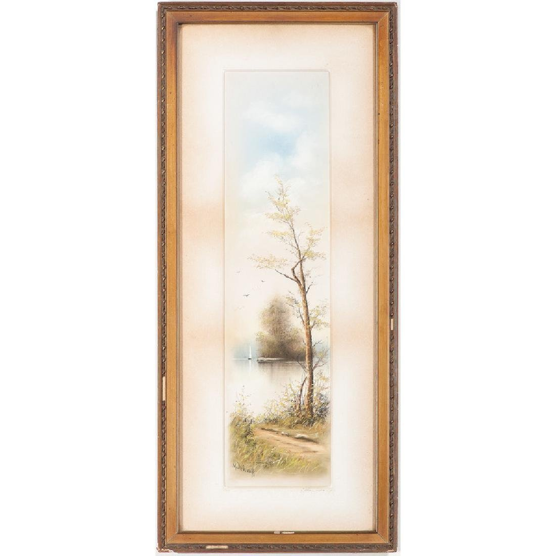Pastel Landscapes by M. De Graff - 2