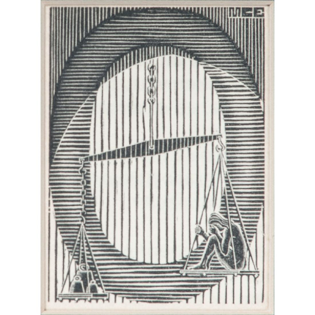 M.C. Escher Bookplate - 2