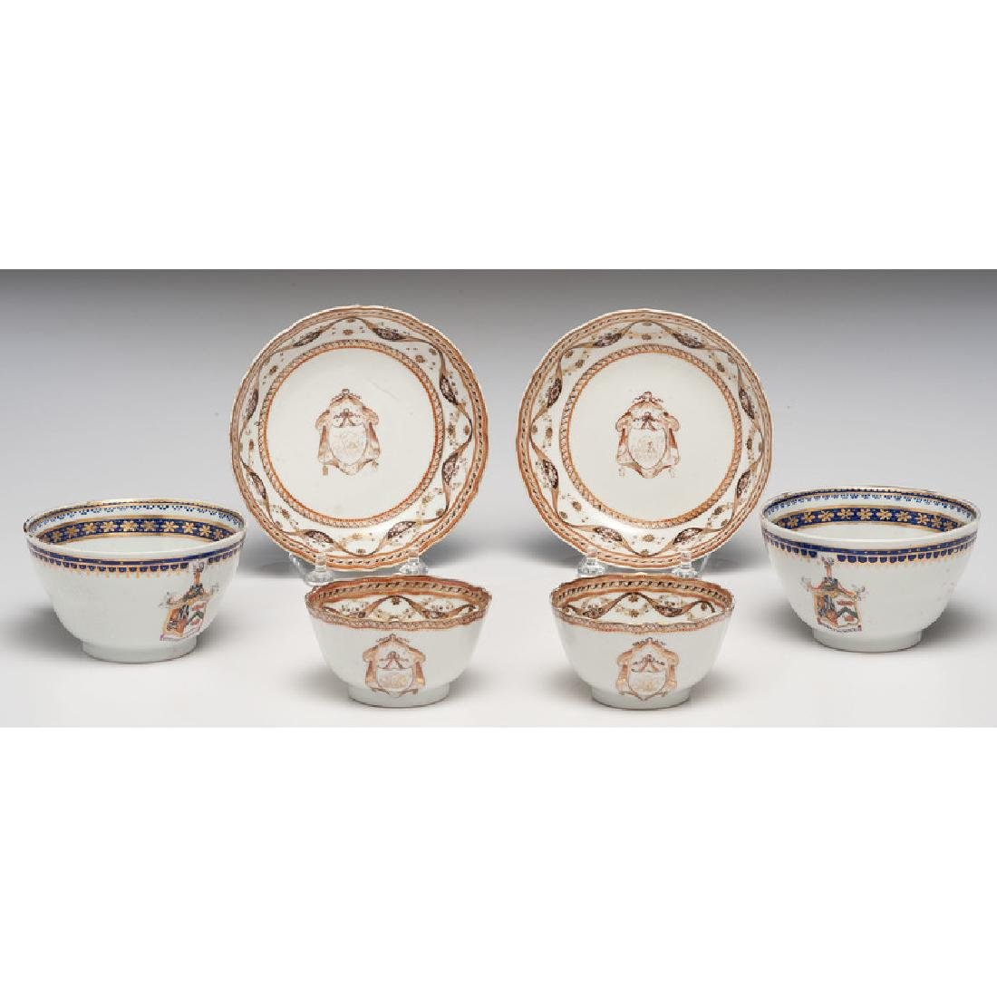 Chinese Export Armorial Porcelain