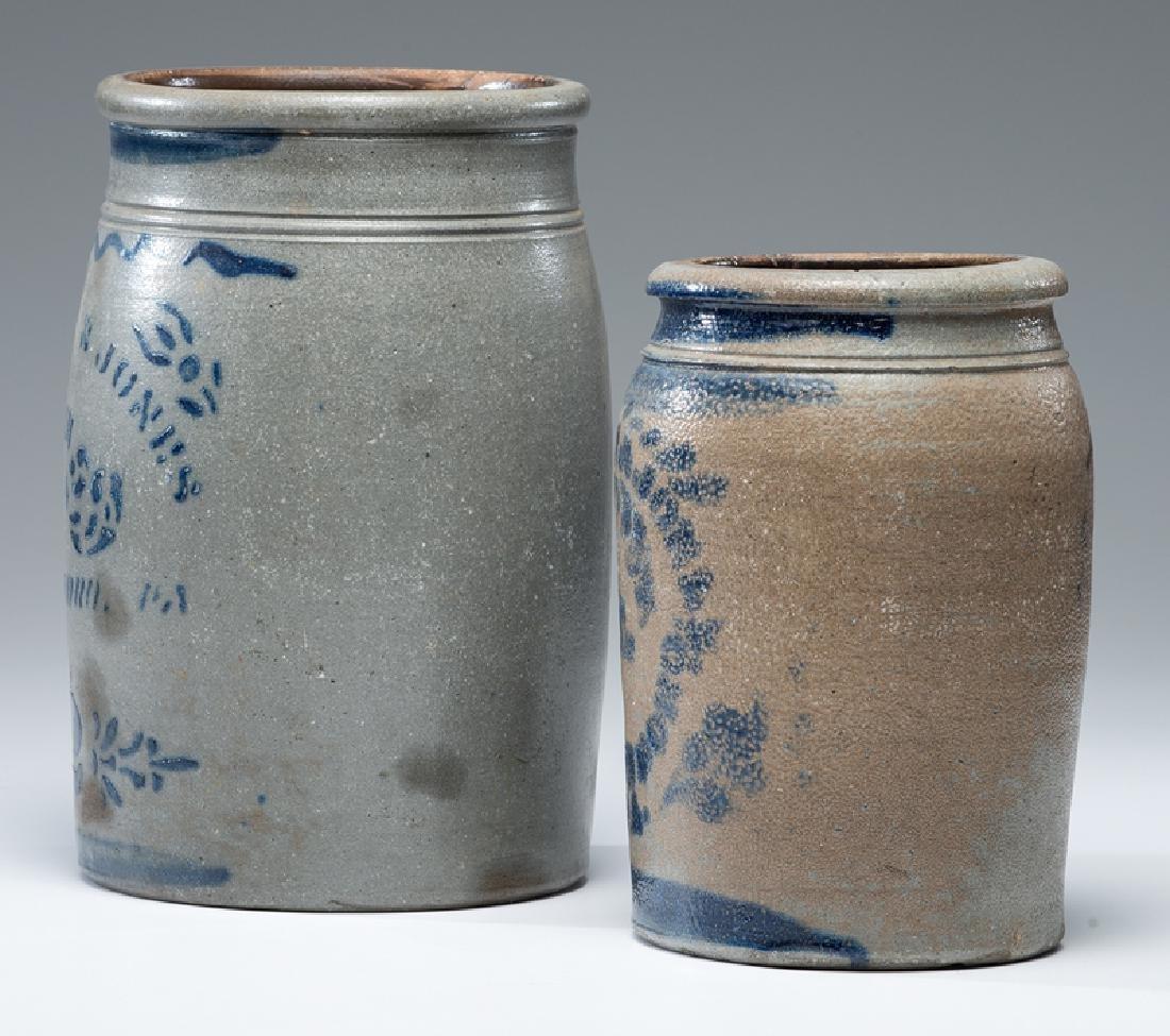 Hamilton & Jones Stoneware Crocks - 2