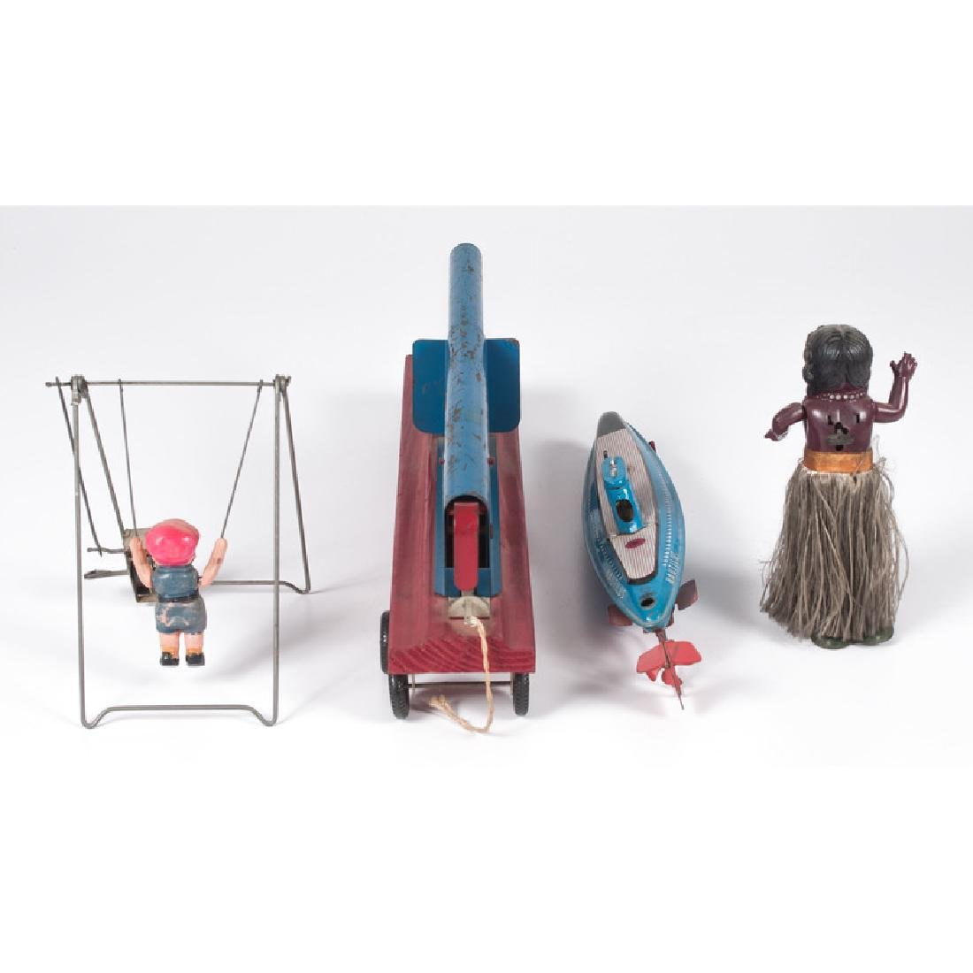 Assorted Tin and Celluloid Toys - 3