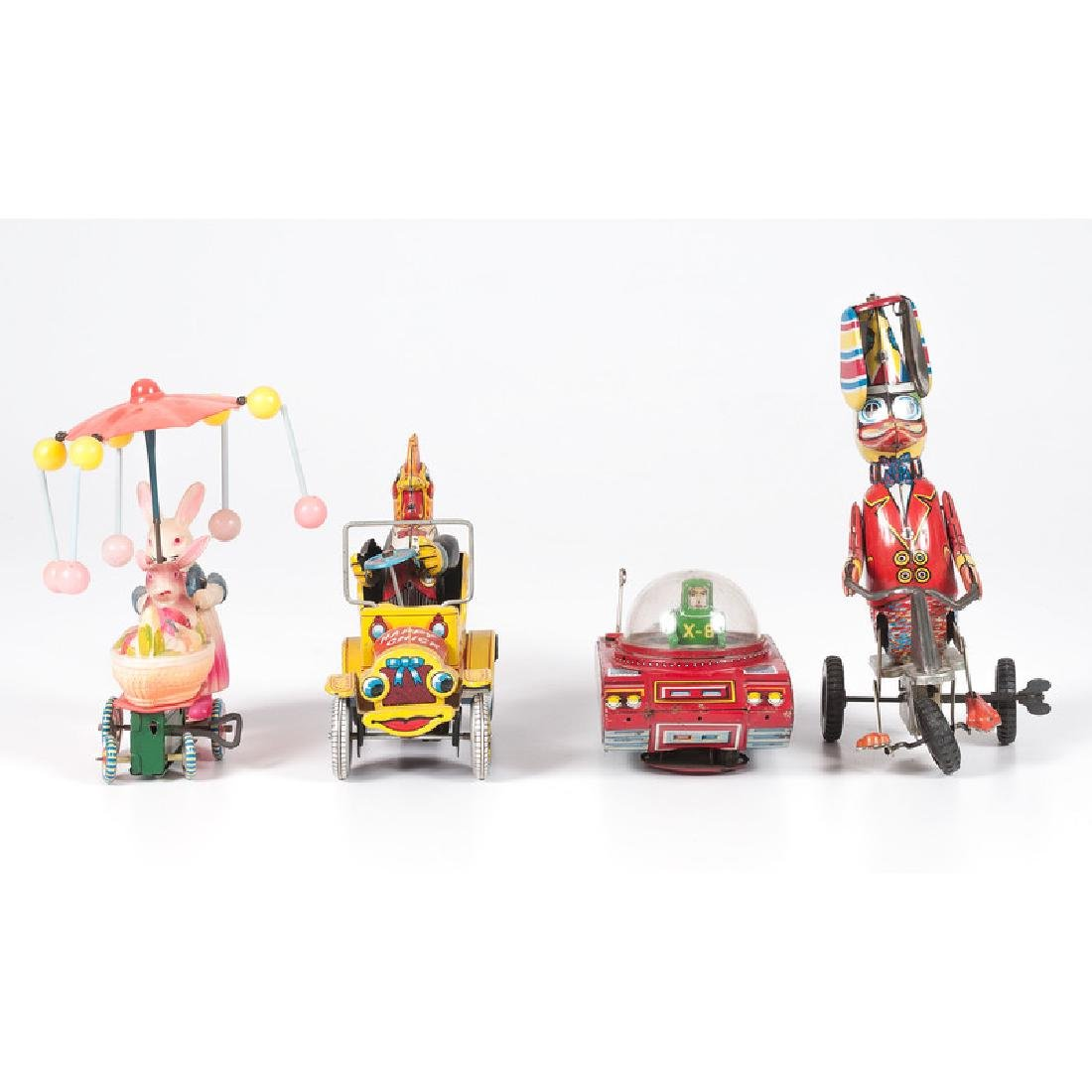 Tin and Celluloid Driver Toys - 2