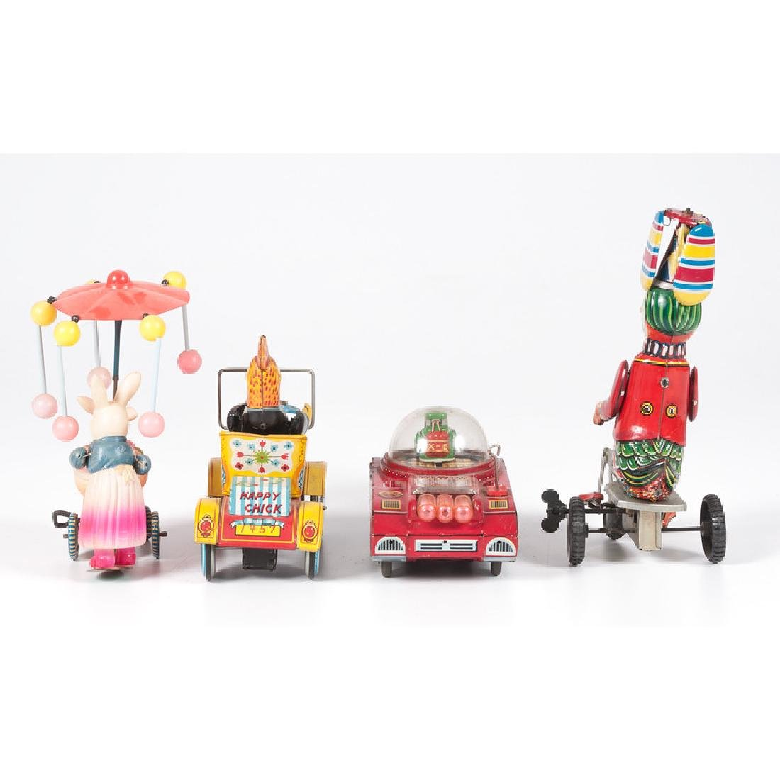 Tin and Celluloid Driver Toys - 3