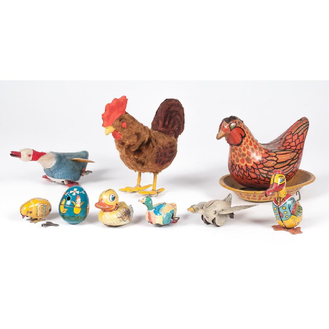 Mechanical Chickens, Ducks, and Geese