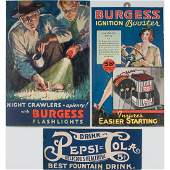 Advertising Lithographs