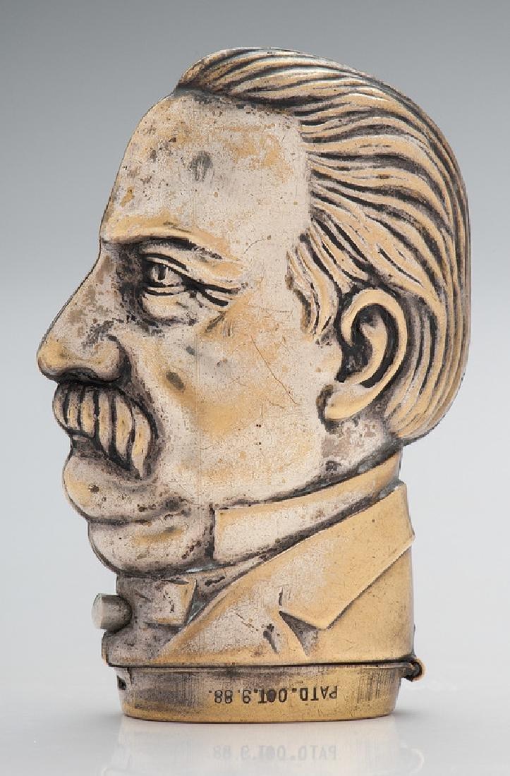 Grover Cleveland Figural Matchsafe - 2
