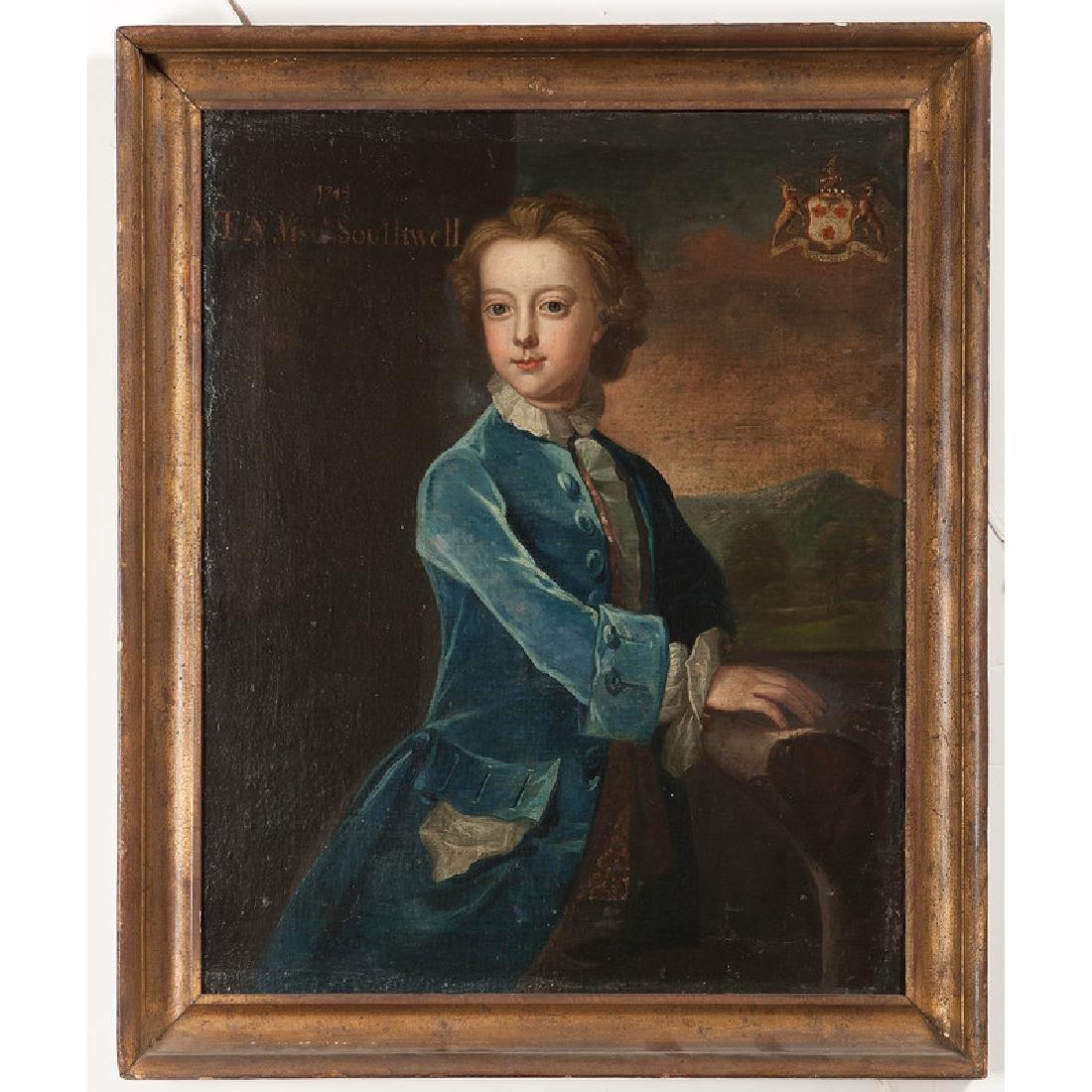 Irish School, 18th century, Portrait of Thomas - 2