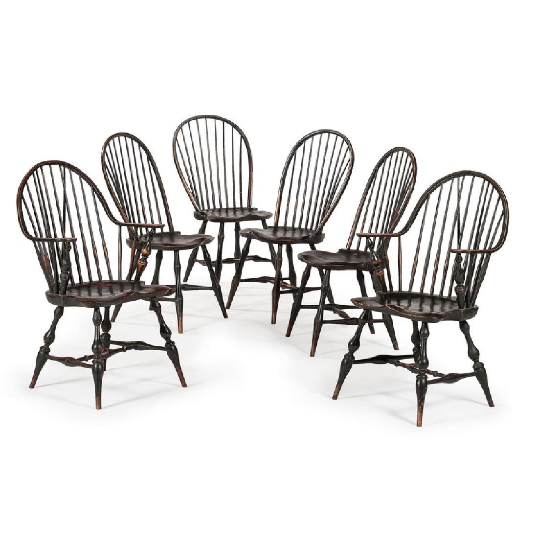 Bowback Windsor Chairs by D.R. Dimes