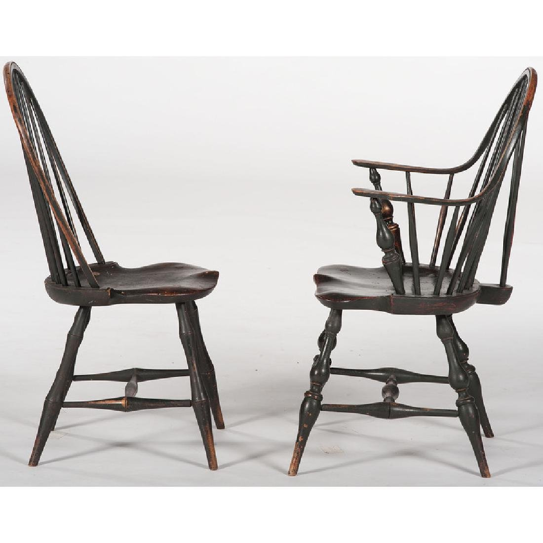 Bowback Windsor Chairs by D.R. Dimes - 2