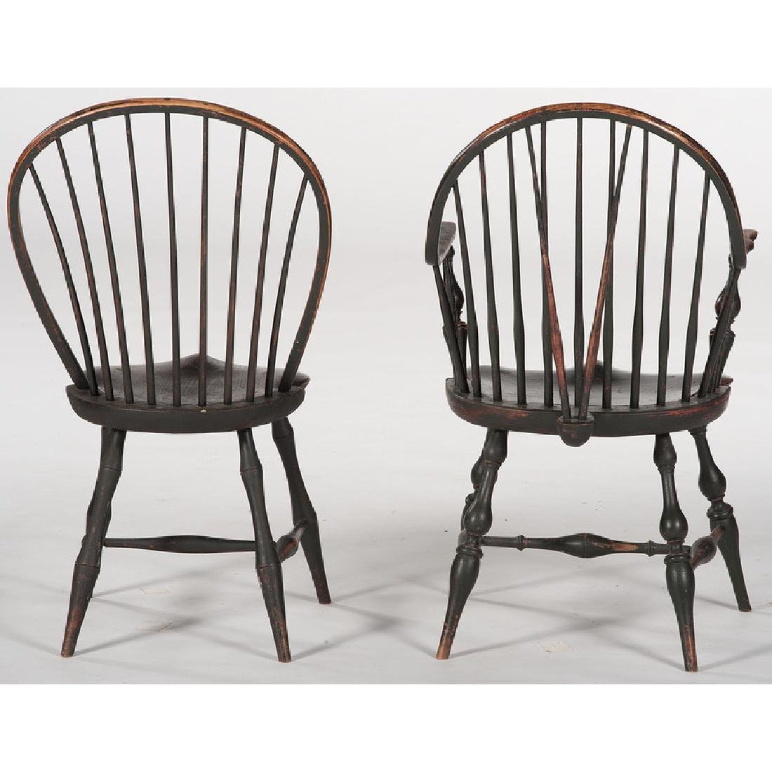 Bowback Windsor Chairs by D.R. Dimes - 3