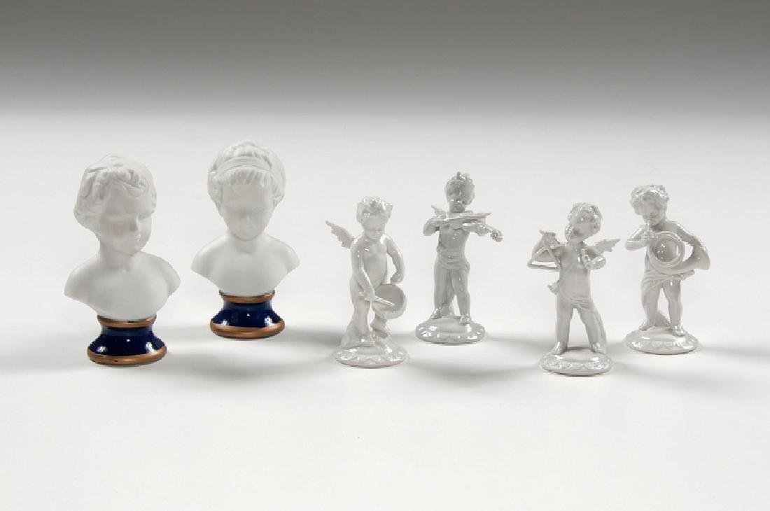 Capodimonte Porcelain Figures