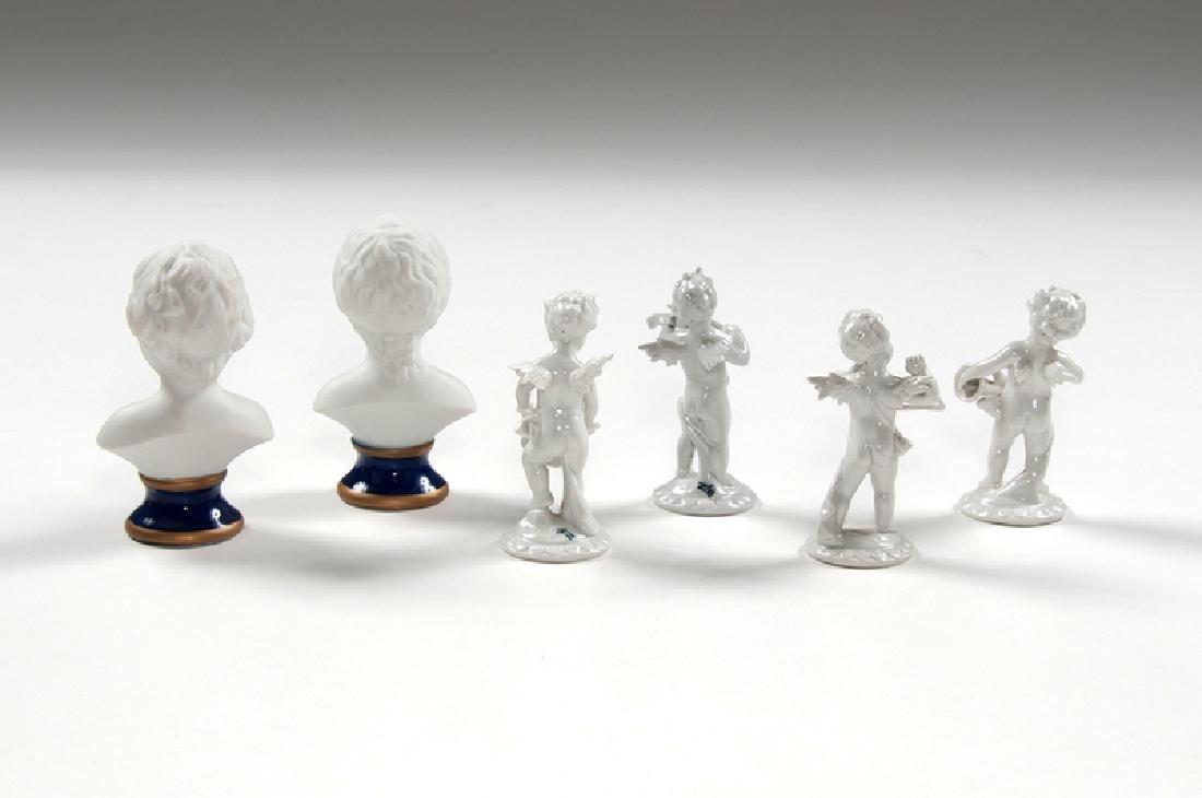 Capodimonte Porcelain Figures - 2