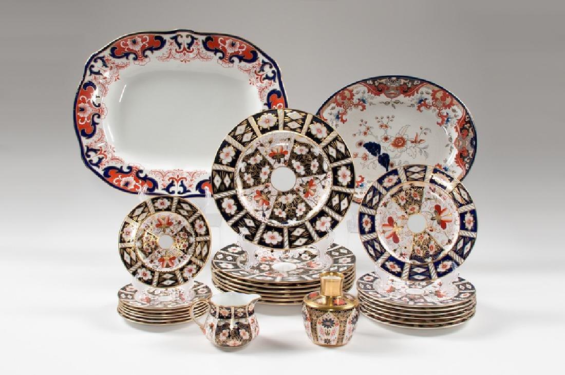 Royal Crown Derby Imari Porcelain, Plus
