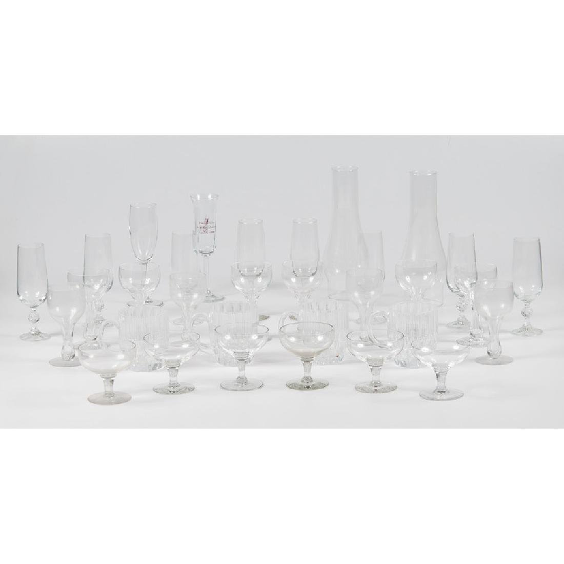 Assorted Glass Stemware and Mugs, PLUS