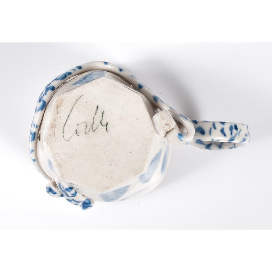 Four Contemporary Ceramic Cups - 4