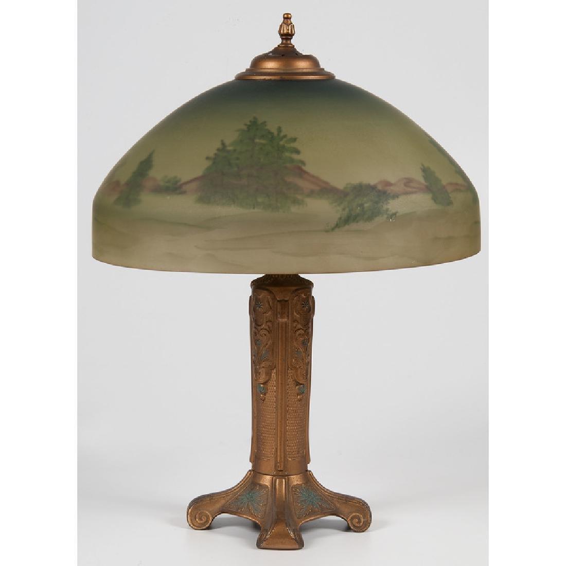 Bryant Reverse-Painted Desk Lamp - 2