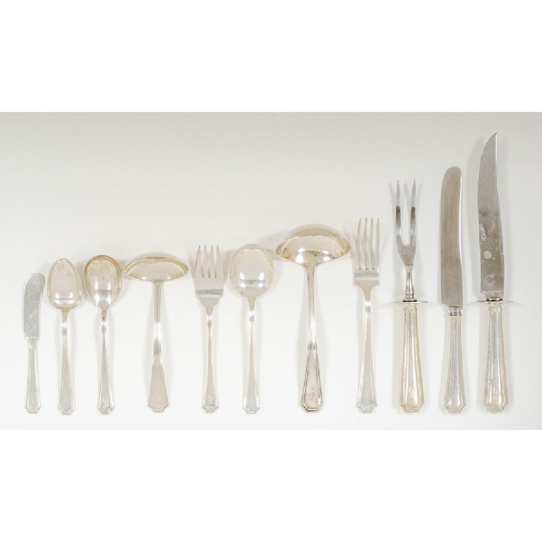 Gorham  Sterling Flatware,  Fairfax  Pattern - 2