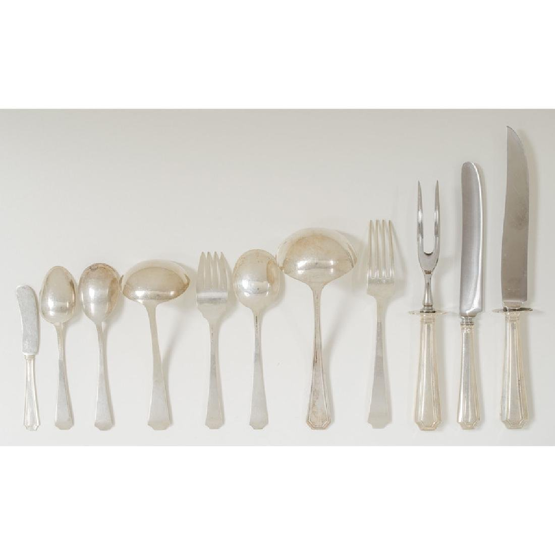 Gorham  Sterling Flatware,  Fairfax  Pattern - 3