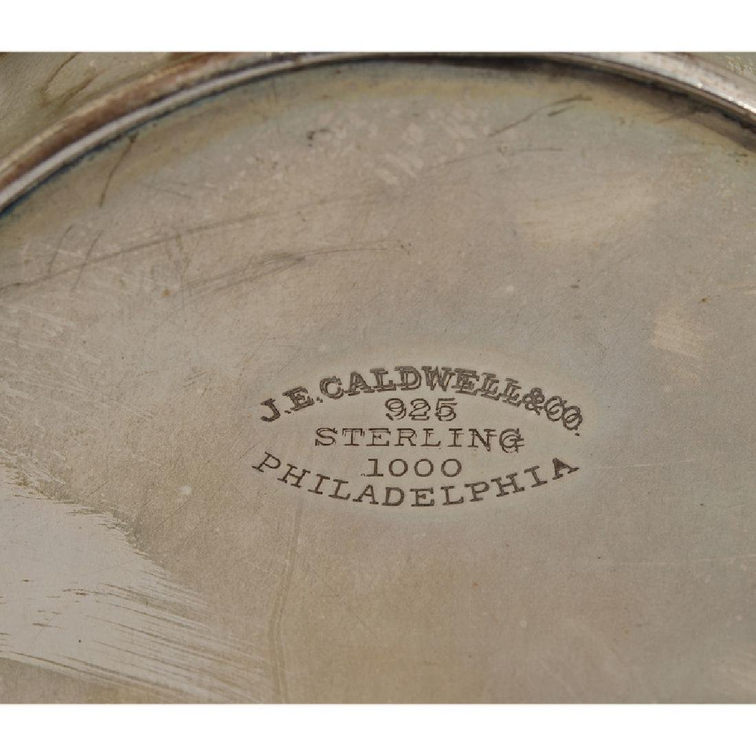 J.E. Caldwell & Co.  Sterling Basket - 3