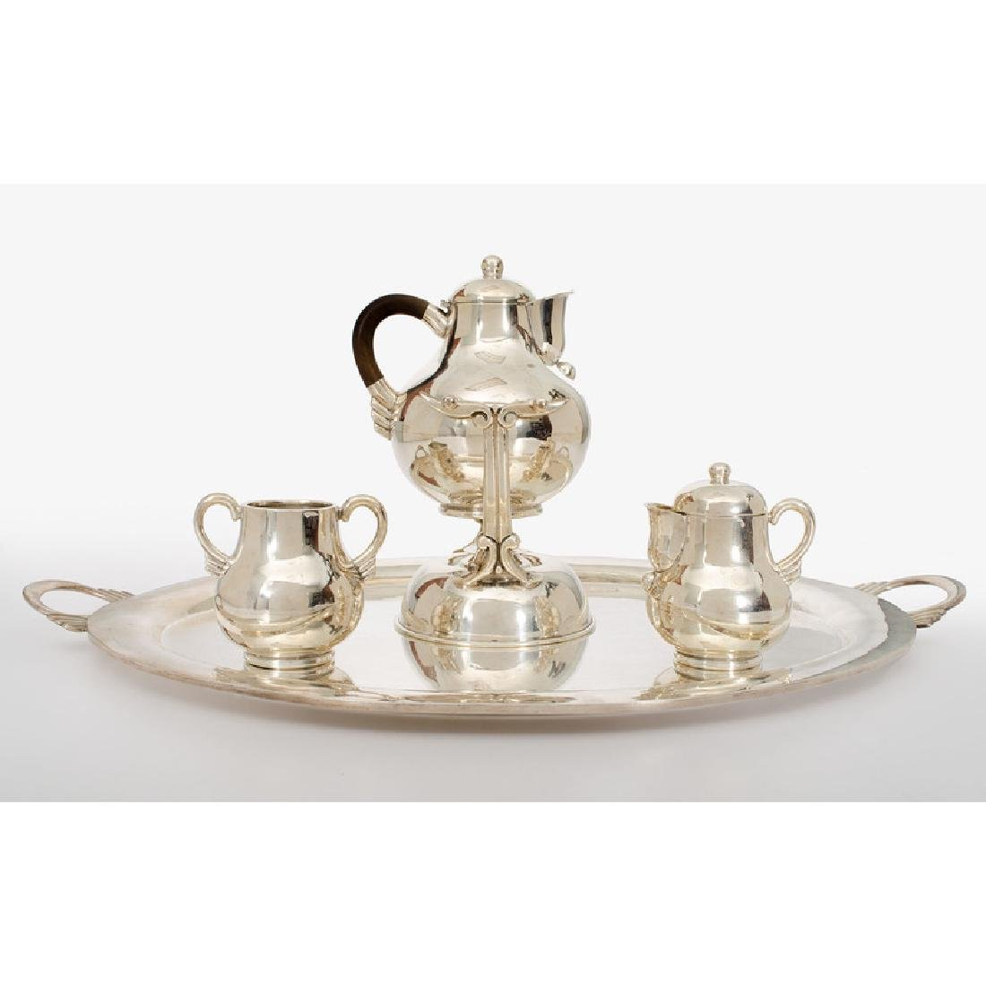 Mexican Sterling Tea Service