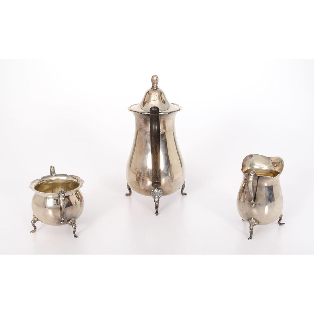 Dunkirk Silversmiths  Sterling Tea Set - 2