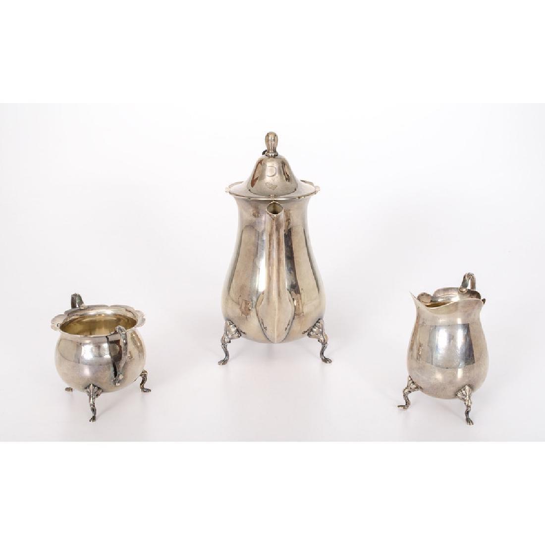 Dunkirk Silversmiths  Sterling Tea Set - 3