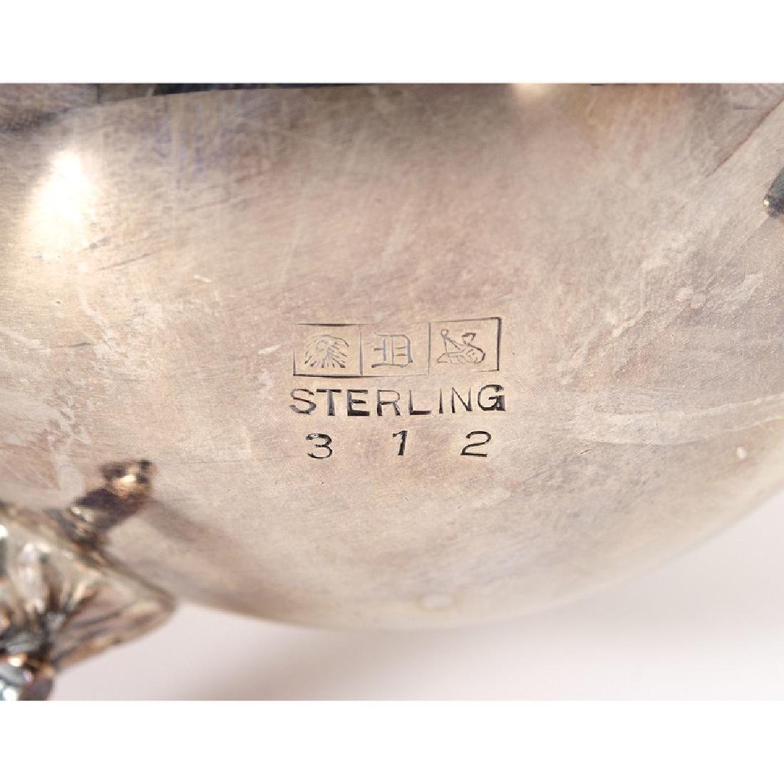 Dunkirk Silversmiths  Sterling Tea Set - 4