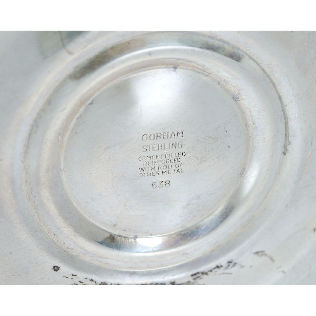 Gorham  Sterling Weighted Candelabra - 3
