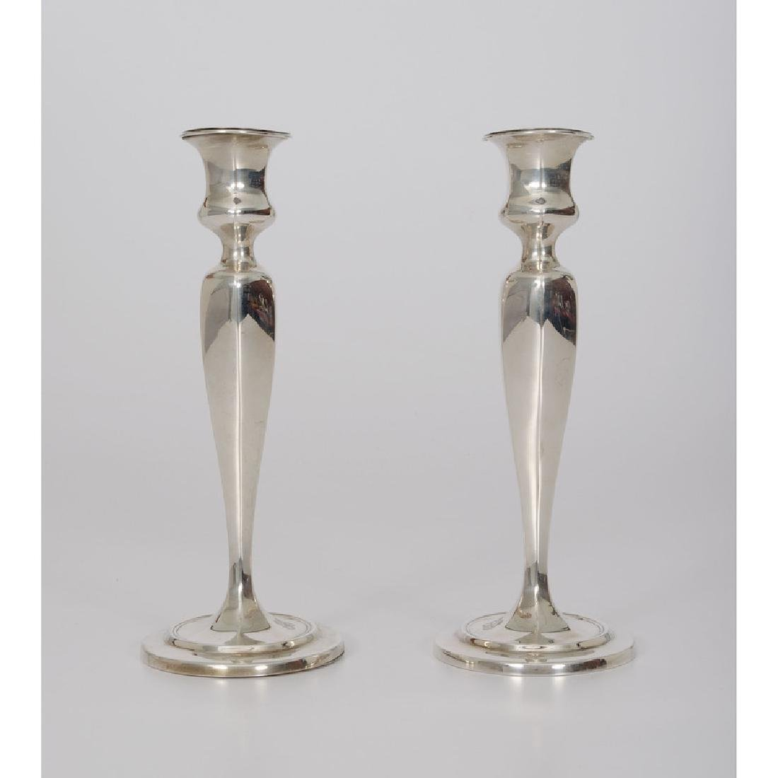 Tiffany & Co.  Sterling Weighted Candlesticks - 2