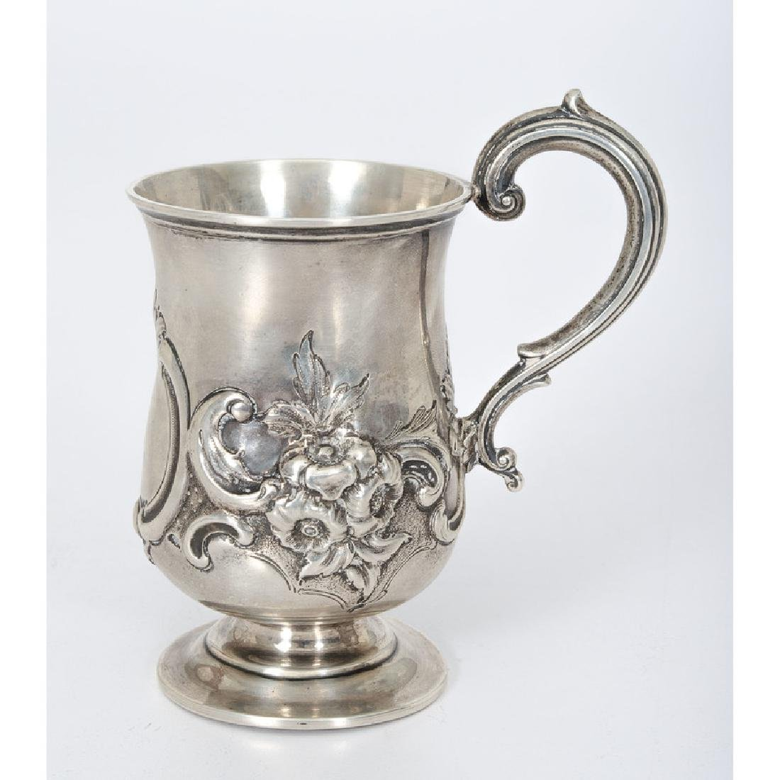 Victorian Sterling Christening Mug - 2