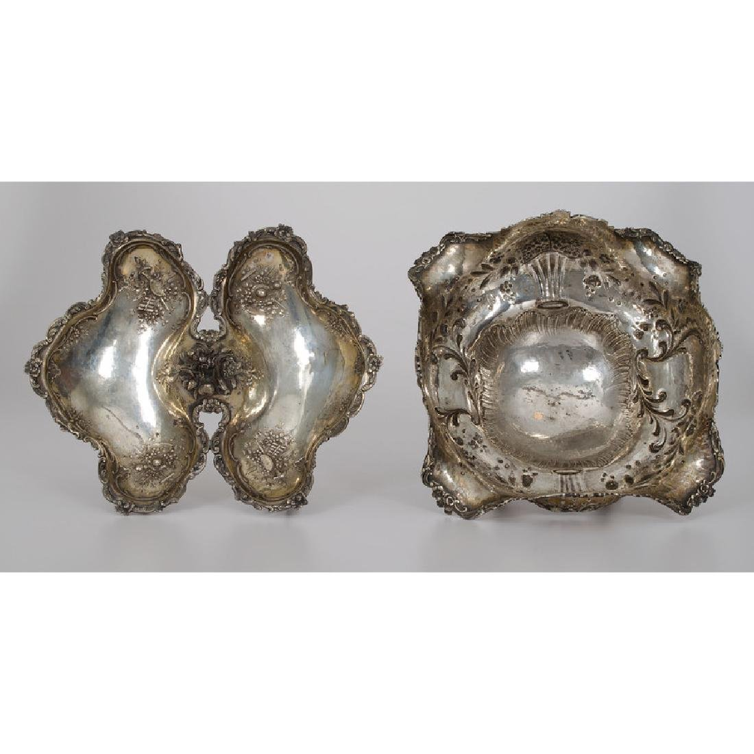 French Silver Bowl and Candy Dish - 2