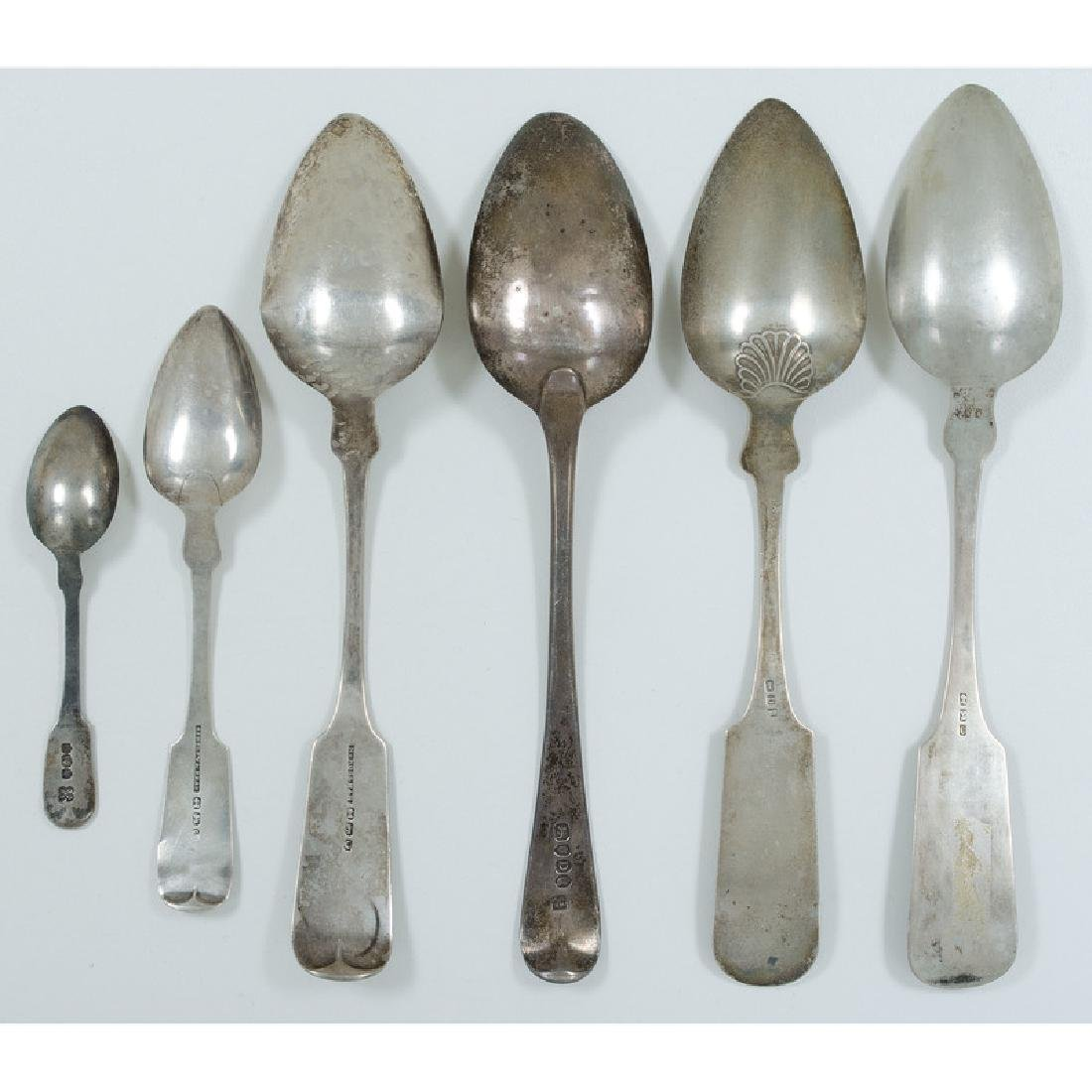 American Coin Silver Spoons, Plus - 2