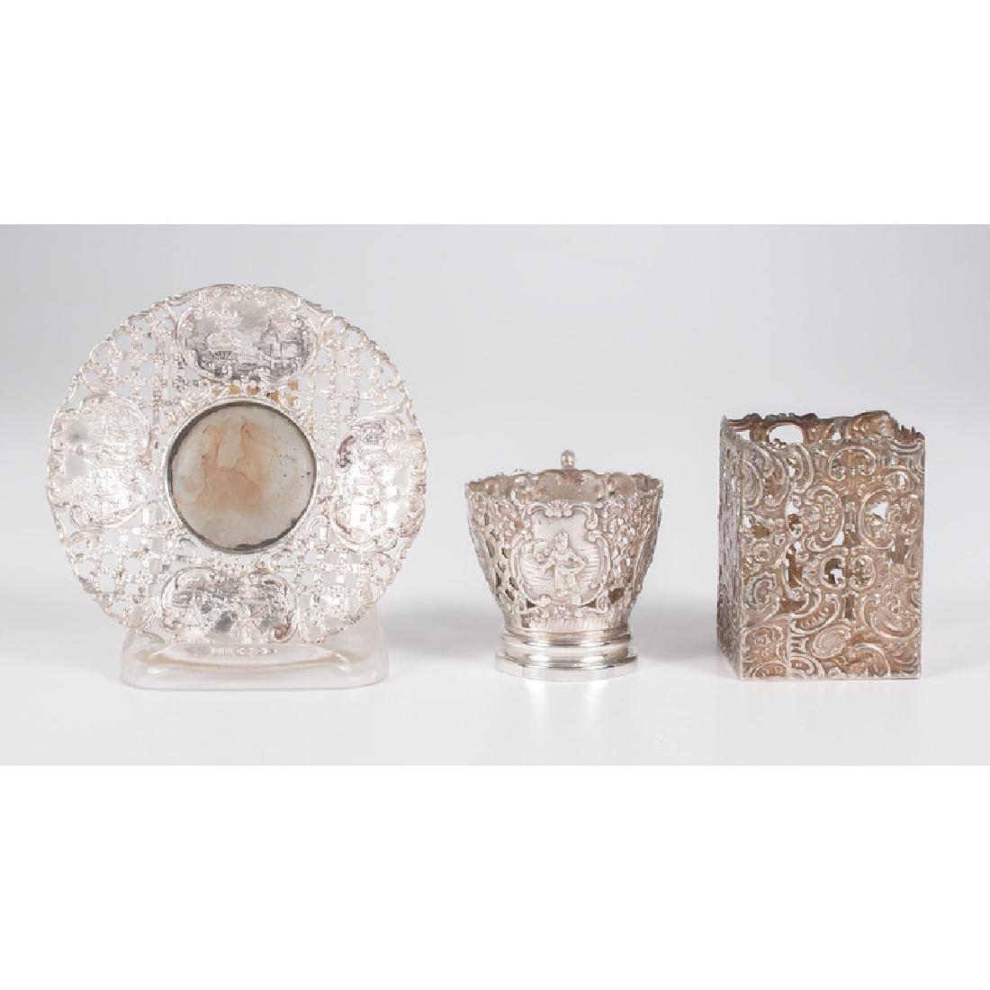 German .800 Silver &  Wyler  Demitasse Cups and - 3