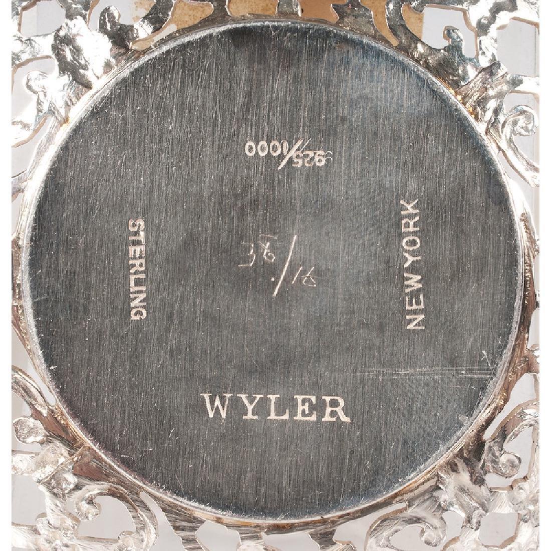 German .800 Silver &  Wyler  Demitasse Cups and - 4
