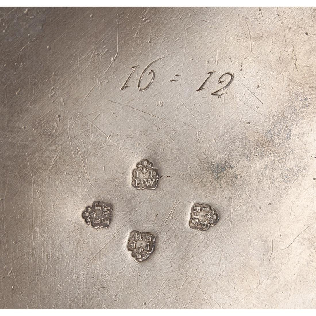 Chinoiserie Silver Tea Caddy, Parker & Wakelin - 4