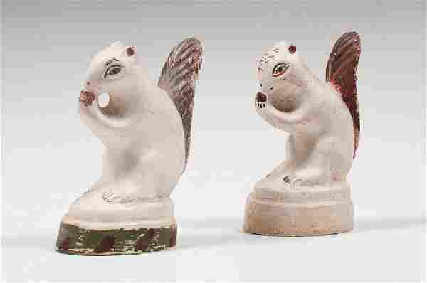 Chalkware Squirrels