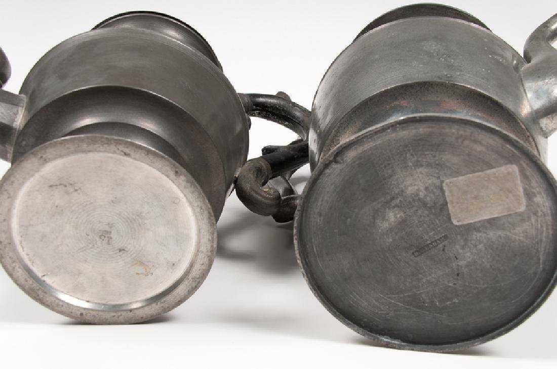American Pewter Teapots and Pitchers, Plus - 4