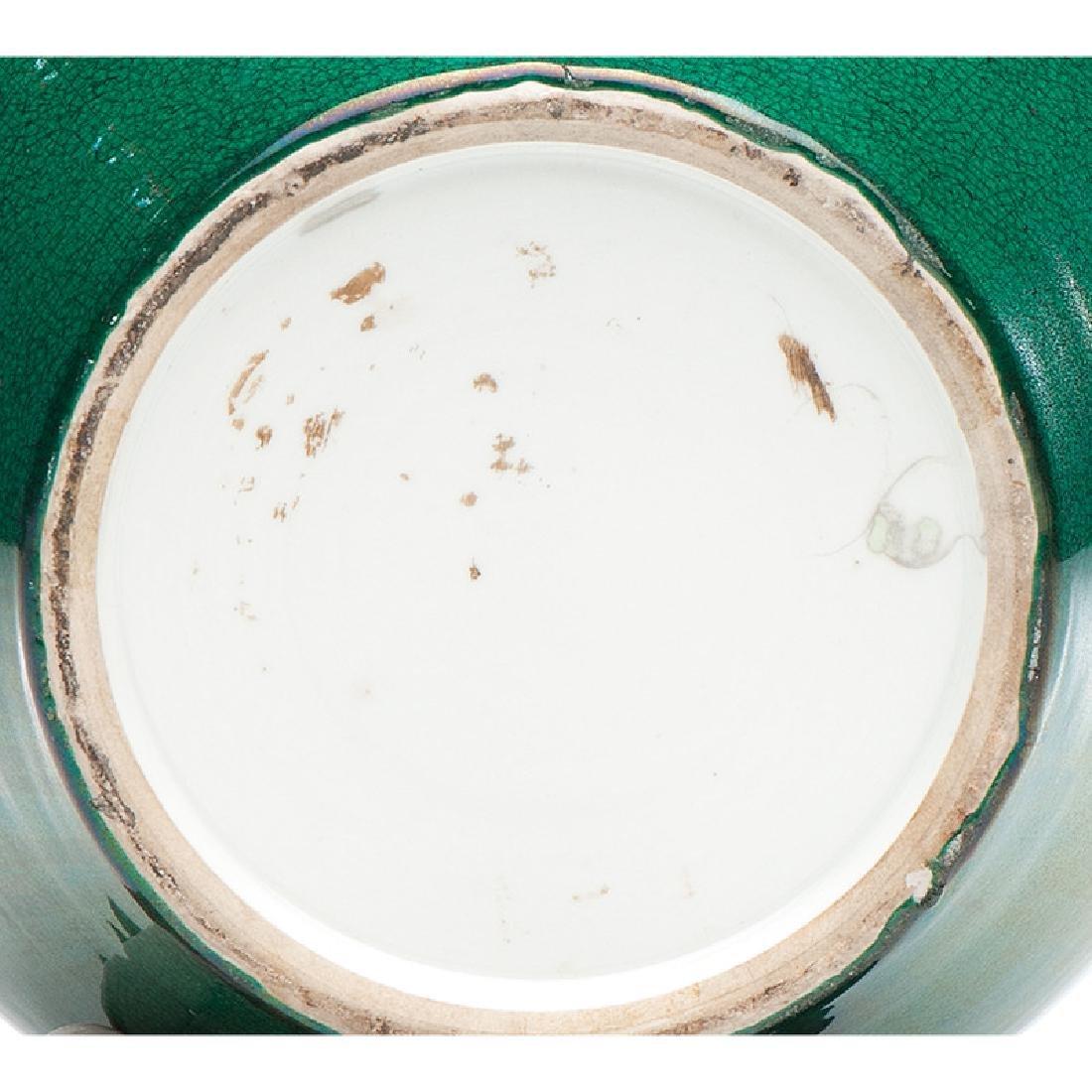Chinese Apple Green Ginger Jar - 3