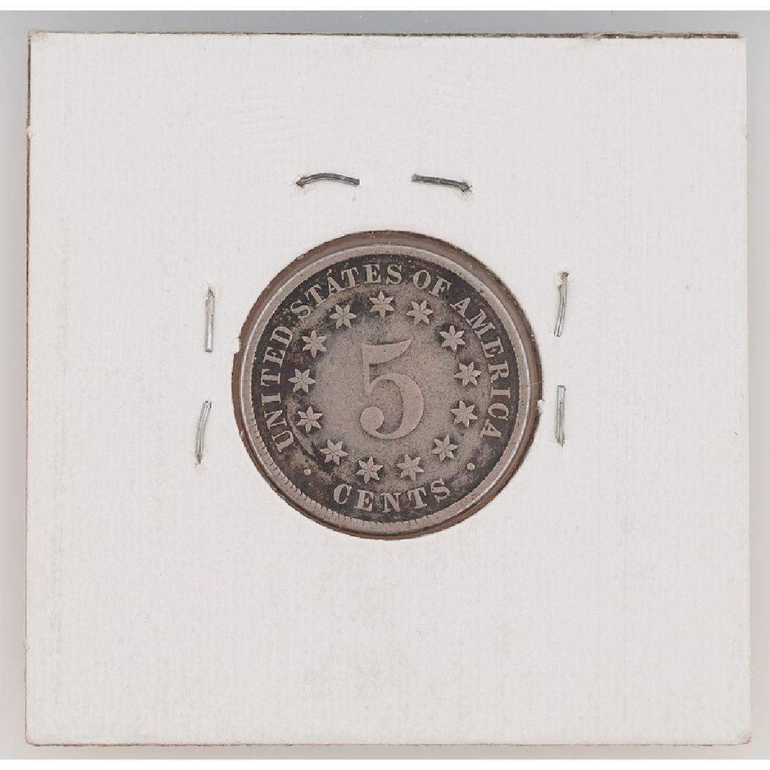 United States Shield Nickel 1883 - 2