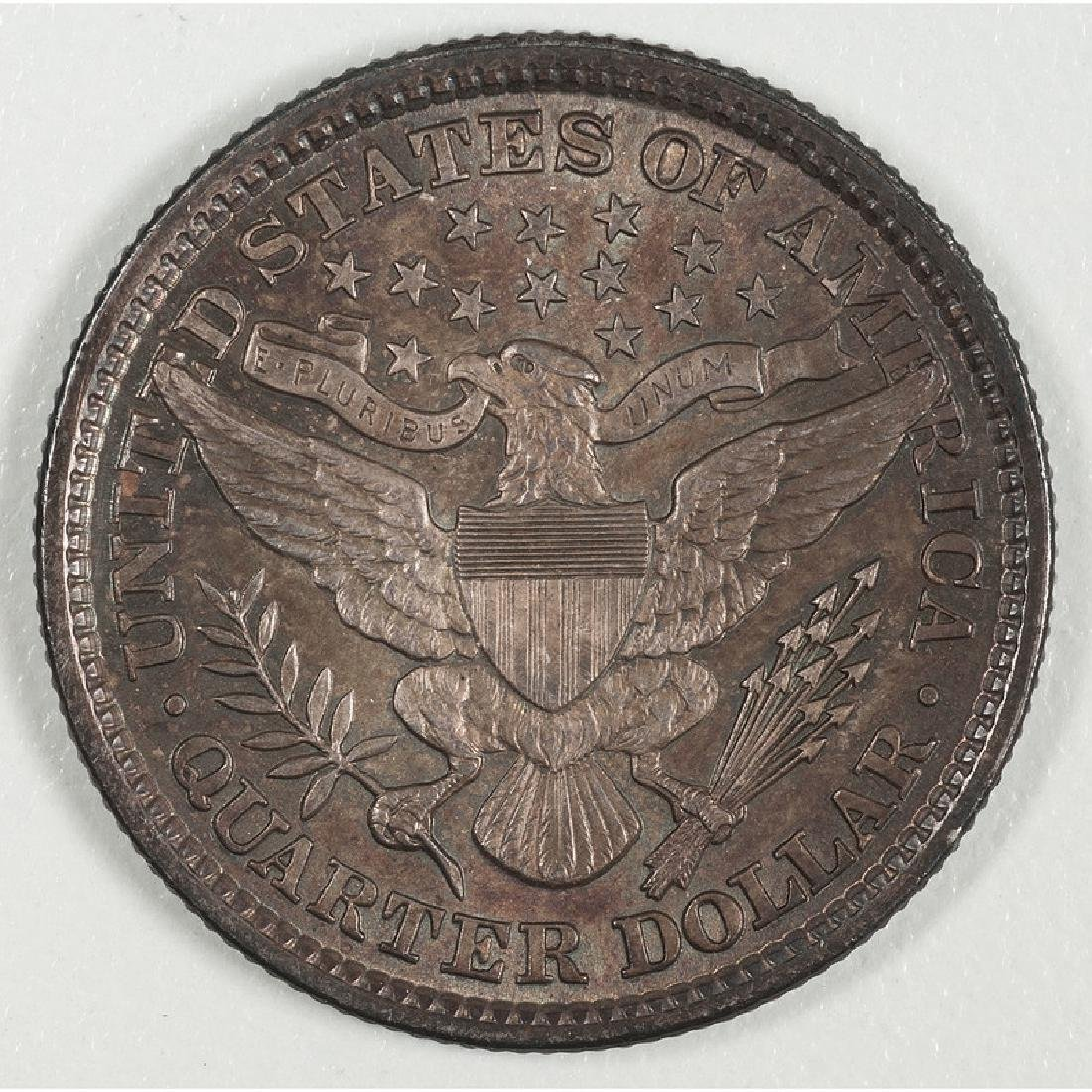 United States Barber Quarter 1892 - 2