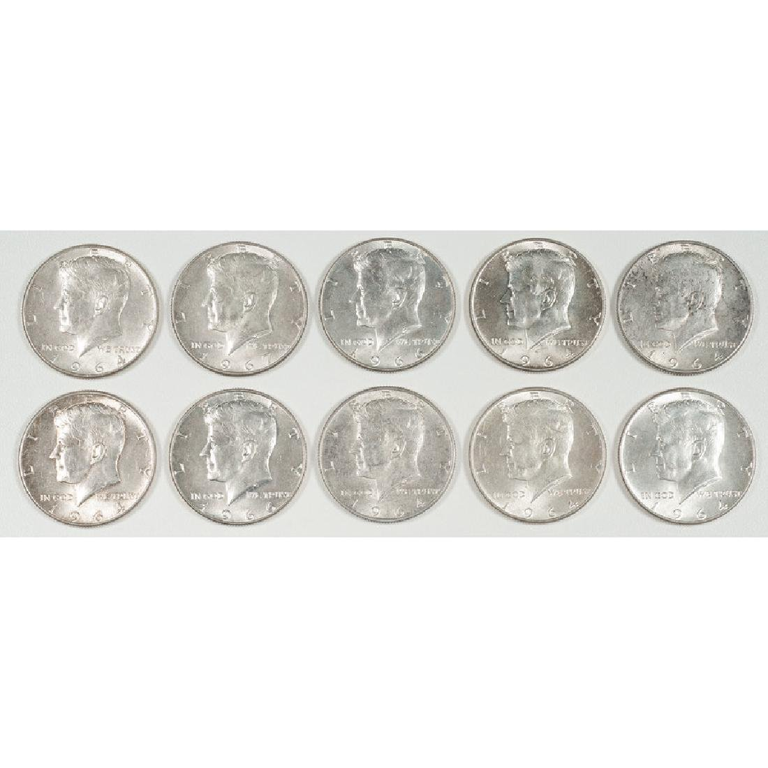 United States Kennedy Half Dollars 1964-1967