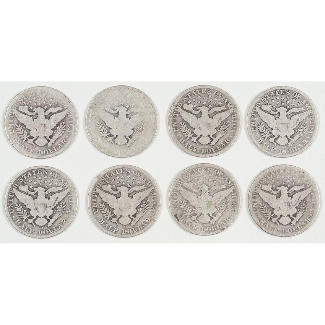 United States Barber Half Dollars 1897-1915 - 2