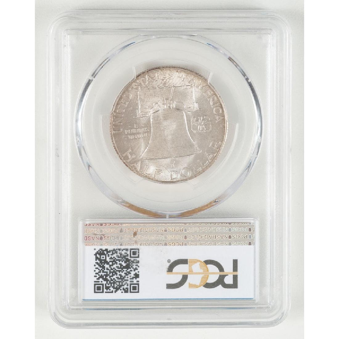 United States Franklin Half Dollar 1949-S, PCGS MS65 - 2