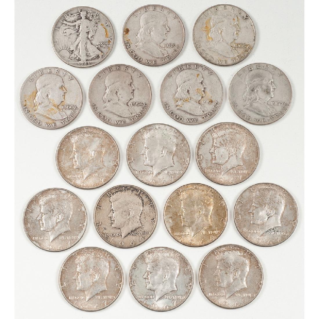 United States Half Dollars 1943 - 1967