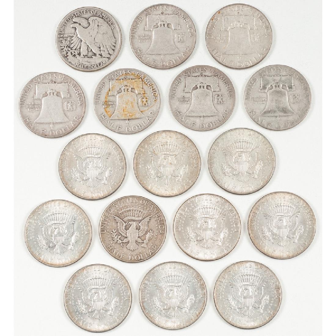 United States Half Dollars 1943 - 1967 - 2