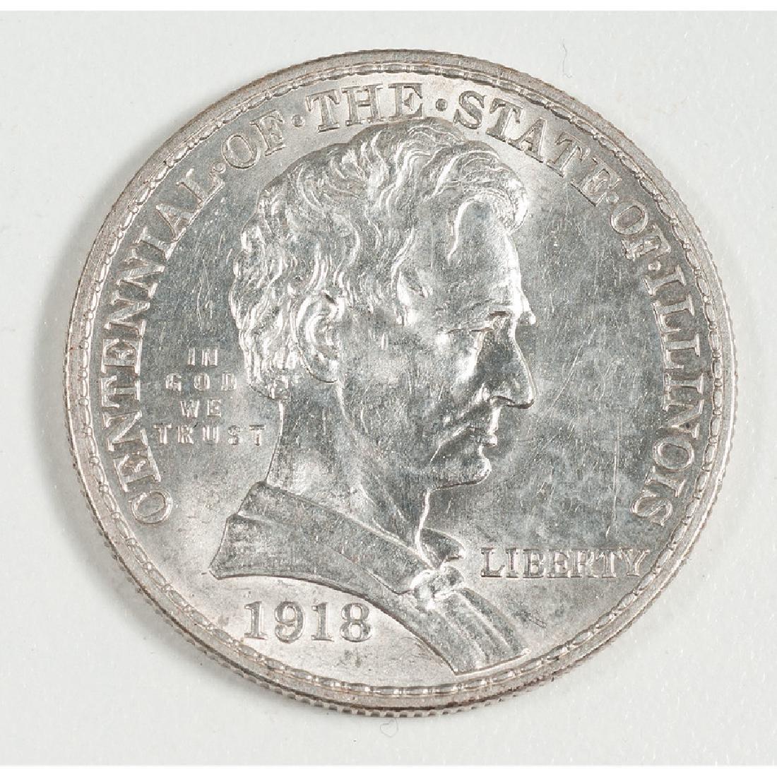 United States Illinois Centennial Commemorative Silver