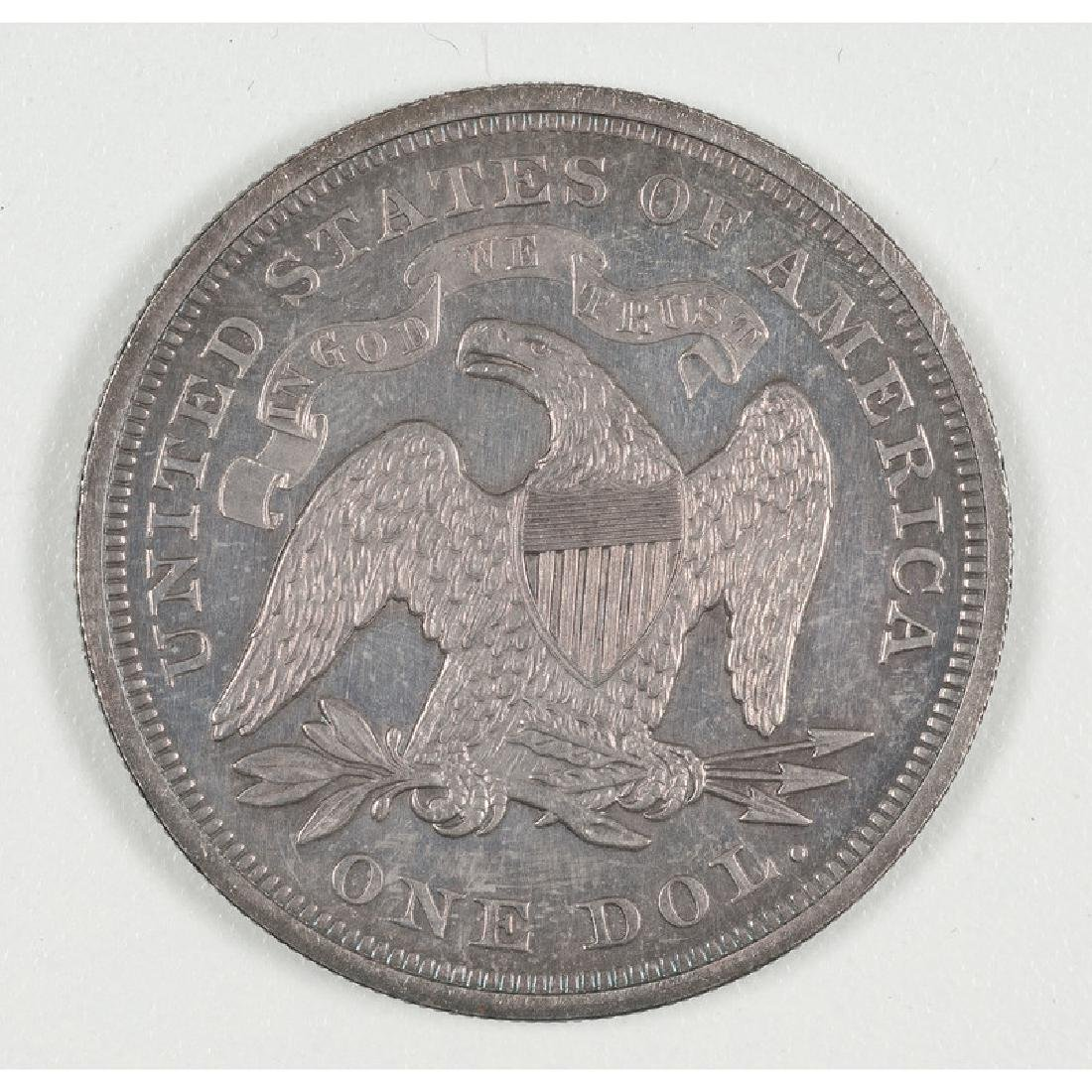 United States Liberty Seated Silver Dollar 1867 - 2