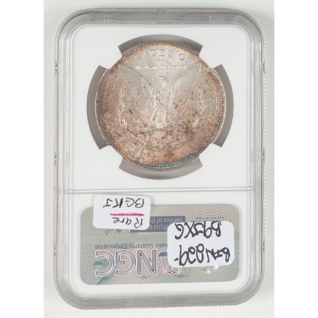 United States Morgan Silver Dollar 1878 7/8TF, NGC MS63 - 2