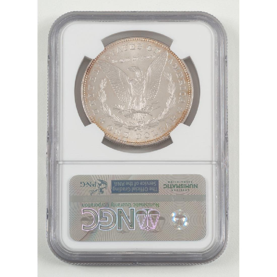 United States Morgan Silver Dollar 1878 7/8TF, NGC MS63 - 2