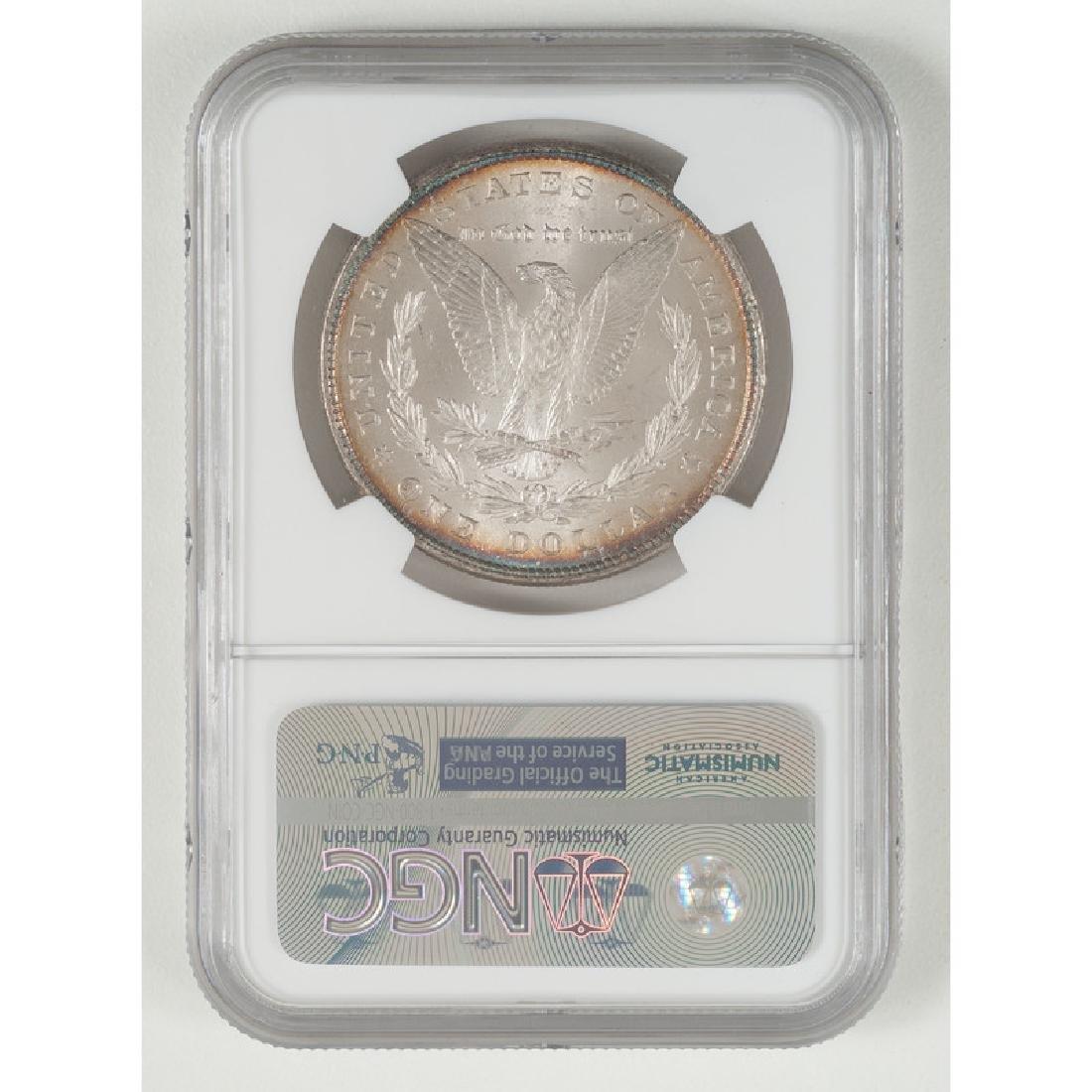 United States Morgan Silver Dollar 1878 8TF, NGC MS62* - 2